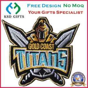 Iron on Backing School Embroidery Badge/ Embroidered Patch (KSD-1165) pictures & photos