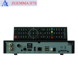 Zgemma H7s 4K Satellite Receiver with 2*DVB-S2X + DVB-T2/C pictures & photos