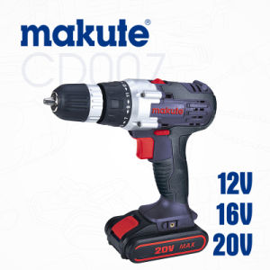 12V/16V/20V Cordless Drill Type 18V Electric Drill with Li-ion Battery pictures & photos