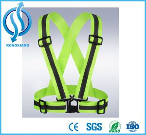 Wholesale Orange Reflective Safety Vest with Pockets for Sanitation Workers Wear pictures & photos