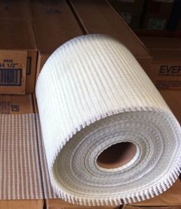 Fiberglass Texturized Mesh for Mosaic and Stone Back Mounting, 4X5mm, 80g, 0.3X400m/Roll pictures & photos
