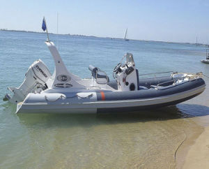 Liya 6.2m/20feet Hypalon Rigid Hull Inflatable Boat for Sale pictures & photos