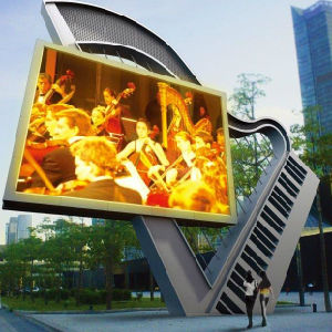 Hight Brightness Outdoor P10 LED Displays Waterproof pictures & photos