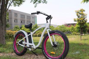 Rear Motor Hummer E-Bike Fat Tire Electric Beach Cruiser pictures & photos