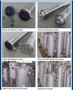 8′′ Side Entry Stainless Steel RO Membrane Housing pictures & photos