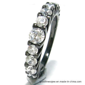 Customize Fashion Rings with 3A White CZ (R10651) pictures & photos