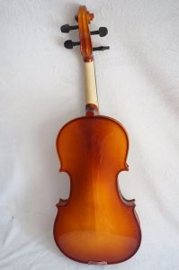 Sinomusik Musical Instruments Saga Finish Solid Purflied Violin pictures & photos