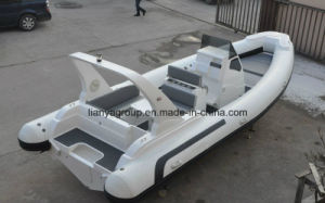 Liya 3.3-8.3m Centre Console Rib Boat Hypalon Rigid Inflatable Boat pictures & photos