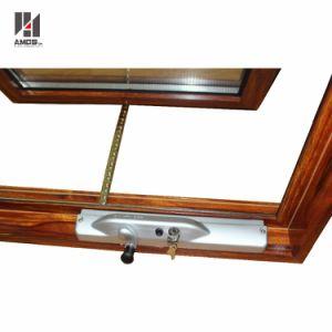 Australian Standard AS/NZS2208 Woodgrain Color Double Glass Aluminium Window Awning pictures & photos