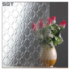 Patterned Toughened Glass Clear/Ultra Clear 5mm Used for Window pictures & photos