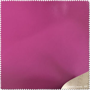 PU Synthetic Leather for Shoes Lining pictures & photos