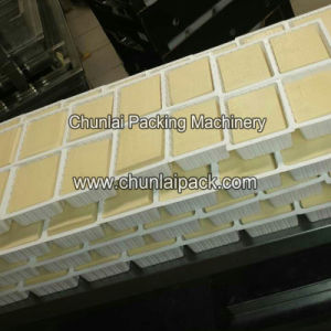Automatic Tofu Box Sealing Straight Cut Film Machine pictures & photos
