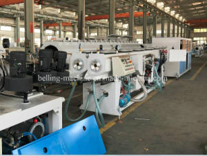 16mm 40mm 50mm 63mm PVC Double out Pipe Extrusion Line pictures & photos