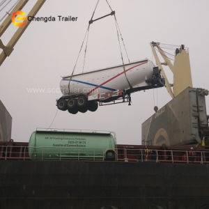 Three Axles 50ton Cargo Semi-Trailer pictures & photos