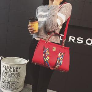 2017 New Women′s Bagshoulder Bag Female Color Shoulder Strap Fashion Casual Handbag pictures & photos