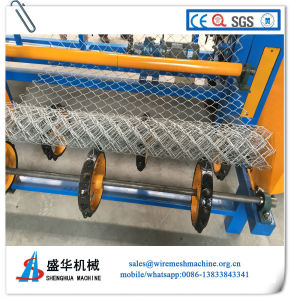 China Supplier Chain Link Fence Machine for Sale pictures & photos