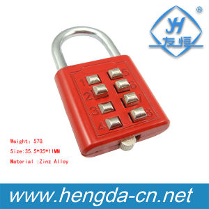 Yh1638 8 Bottom Combination Padlock High Grade Metal Padlock for Suitcase pictures & photos