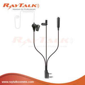 3 Wires Surveillance Acoustic Tube Earpiece for Motorola Radios pictures & photos