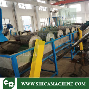 600-700kg/H Waste Plastic HDPE LDPE Extruder for Recycling pictures & photos