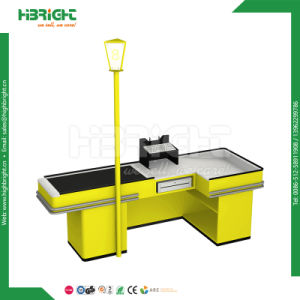 Supermarket Checkout Counter with Conveyor Belt, Supermarket/Retail Store Counter, Hot! pictures & photos