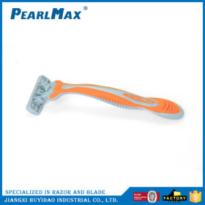 Triple Blade Stainless Blade Disposable Shaving Razor for Men pictures & photos