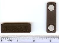 Permanent Black Plastic Magnet Fastener