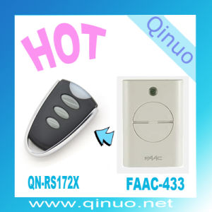 Hot Faac-433MHz Rolling Code Remote Control Transmitters Qn-RS172X pictures & photos