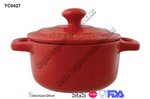 Promotional Red Casserole pictures & photos