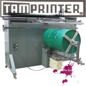 500PCS/Hr Large Bucket Cylinder Pneumatic Screen Printing Machine pictures & photos