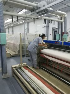 Jlh425s Gauze Production Line Medical Gauze Air Jet Loom for Uzbekistan pictures & photos