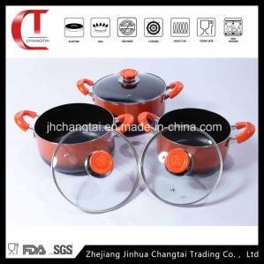 3 PCS Aluminum Non-Stick Cookware Set