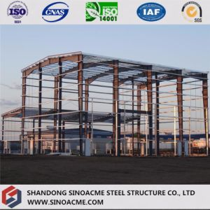 Steel Structure/ Metal Construction Warehouse with Office pictures & photos