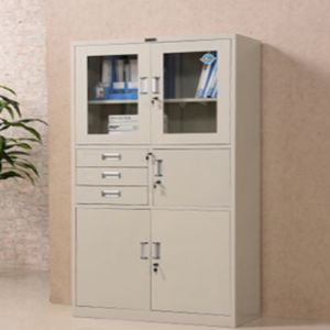 5-Door 3-Drawer Office Furniture Steel Swing Door Filing Cabinet/Bookcase/Bookshelf/Book Shelf pictures & photos