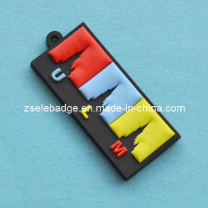 Custom 3D Soft PVC Keyring Manufacrurer pictures & photos
