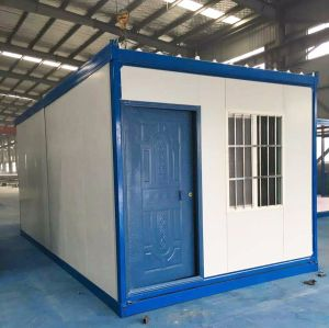 Low Cost Folding Container House for Temporary Using pictures & photos