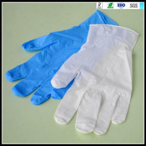 Disposable PE Gloves PVC Examination Gloves pictures & photos