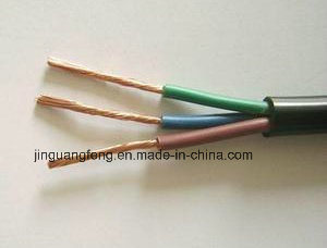 H05VV-F/Rvv PVC Coated Electrical Cable Wires, Flexible Stranded Copper Wire pictures & photos