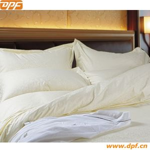 Cotton Solid Color Bed Sheets Sets Hotel Linen pictures & photos