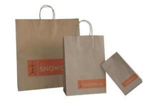 Kraft Paper Packaging Gift Bags for Food (FLP-8962) pictures & photos