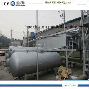 Used Tire Pyrolysis Equipment New Condition Tire Recycling Machine pictures & photos