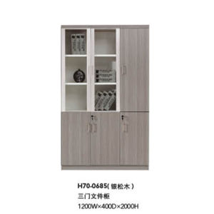 Hot Sale Modern Office Wooden File Cabinet (H70-0685) pictures & photos
