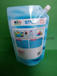 Stand up Plastic Pouch with Spout for Liquid Packing pictures & photos
