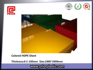 Extruded HDPE Board with SGS Certificate pictures & photos