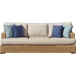 Well Furnir Wicker Sofa with Cushion pictures & photos
