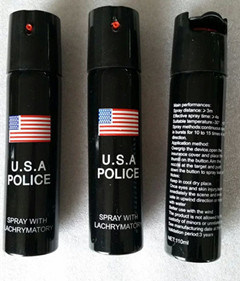 2017 USA Best Quality Police Pepper Spray for Self Defense pictures & photos