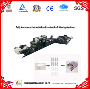 Glue Exercise Book Produciton Line Glue Notebook Making Machine