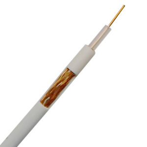 Coaxial Cable RG58 White