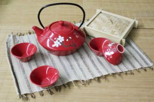 Houseware Ceramic Teapot Giftware Set (CC-TP2R)