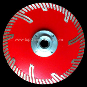 Hot Press Diamond Turbo Segmented Saw Blade with Side Protection pictures & photos