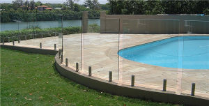 Outdoor Frameless Glass Railing Good Quality pictures & photos